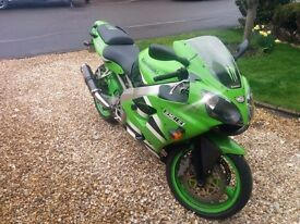 2002 Kawasaki ZX636 A1-P, low mileage, well looked after clean example