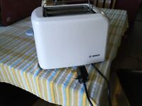 BOSCH two slice toaster