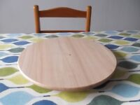 Ikea lazy susan made of pine and in excellent condition