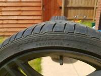 2 Front 19' Genuine BMW Wheels with good Bridgestone Potenza tyres