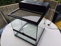 Exotera 45x45x45 vivarium inc light box