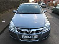 Vauxhall Astra 1.6 i 16v Club 5dr£1,600 2007 (07 reg), Hatchback, CHEAP INSURANCE HELP...