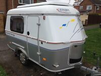 Eriba Puck 120 2008 model with motor mover and awning