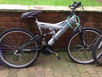 Shockwave double suspension bike