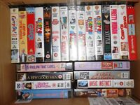 130 VHS Tapes (Job Lot)
