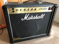 1982 Marshall JCM800 50 watt 1x12 combo (2204 / 4010) w/ Vertical Inputs (JCM 800 guitar amp)