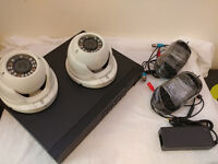 CCTV CAMERAS - BNC VIDEO BALUNS - POWER SUPPLY - CONNECTORS. CCTV EQUIPMENT
