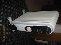 2 Kw oil filled electric heaters
