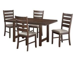 7 pc dining set in grey | exclusive collection (KA2006)