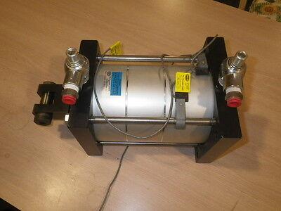 Fabco-air Pancake Cylinder 3 Stage Power Stroke  Mp6x1-12x3x1rf-tfr-mr-z