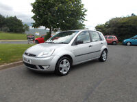 FORD FIESTA FLAME HATCHBACK 5 DOOR STUNNING SILVER NEW SHAPE 2004 BARGAIN 650 *LOOK* PX/DELIVERY