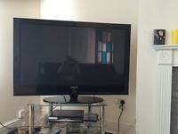 "Samsung 50"" HD LCD TV (not free view built in)"