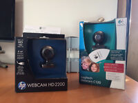 2 x Brand New Webcams for £10