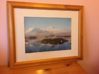 Framed picture of Rannoch Moor