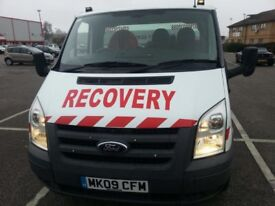Ford transit recovery 2009