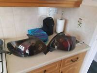Peugeot 206 rear Lexus lights