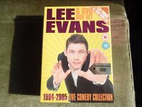 Lee Evans: 1994-2005 - Complete Live Comedy Collection 6 DVD Boxset