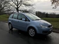 FORD FOCUS C-MAX TDCI GHIA MPV WITH HISTORY AND CAMBELT REPLACED