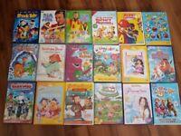 Kids Dvd's 32 movies bargain prices