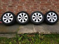 "Vauxhall insignia sri 17"" alloys with good tyres"