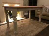 Lovely refurbished farmhouse dining table