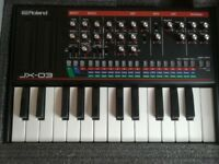 Roland Boutique jx03+Keyboard