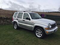 2006 Jeep Cherokee 2.8 TD Limited Station Wagon Auto 4x4 5dr