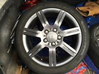 """SET OF 4 GENUINE SEAT RONAL 16"""" ALLOY WHEELS AND TYRES (PLEASE READ)"""