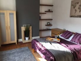 Massive room to rent in Derby city centre with double bed & fast internet
