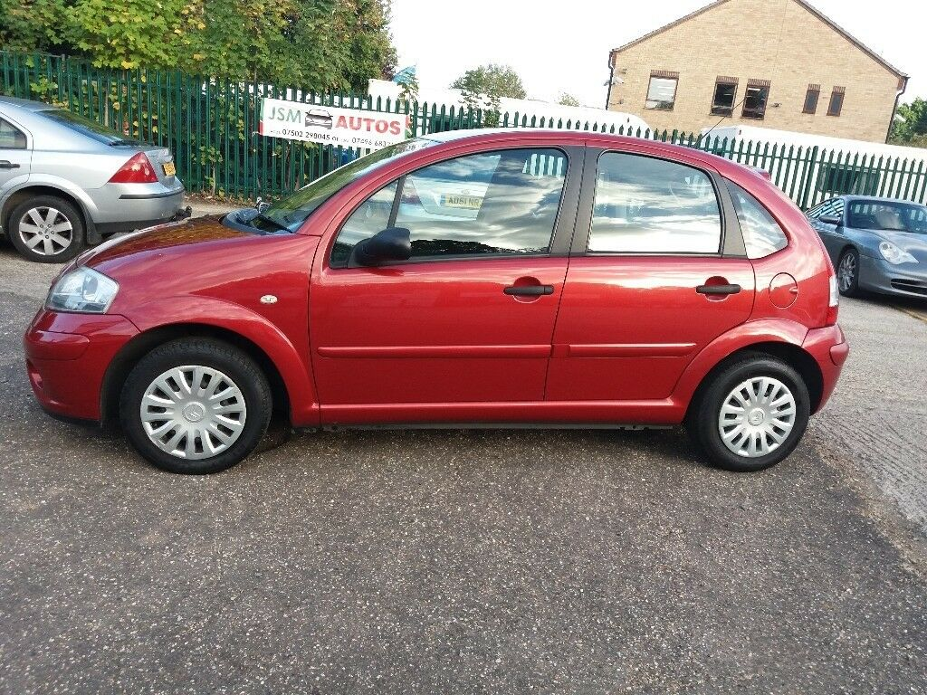 2007 Citroen C3 red drives superb