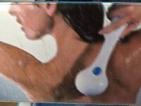 Battery operated bath massager