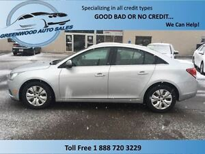 2012 Chevrolet Cruze LS, AC, AUTO........EASY ON FUEL!!!!!!