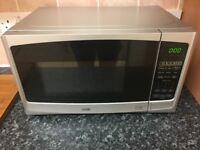 LOGIK 20 Litre Silver Microwave