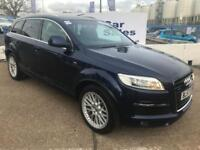 AUDI Q7 3.0 TDI QUATTRO S LINE 5d AUTO 240 BHP A GREAT EXAMPLE INSIDE AND OUT (blue) 2007