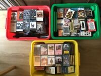 144 Rock music cassettes