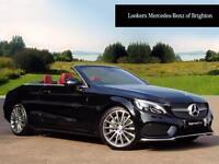 Mercedes-Benz C Class C 300 AMG LINE (black) 2016-09-07