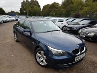 BMW 5 Series 2.0 520d SE 4dr, 1 YEAR , SAT NAV, CRUISE CONTROL, PARKING SENSORS, HEATED FRONT SEATS