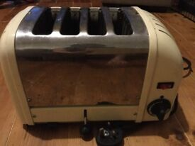 Dualit vario 4 slice toaster***Selling for Spares or Repairs***