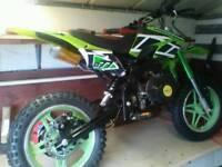 Nitro 50cc bike