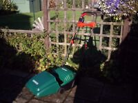 QUALCAST CONCORDE 32 CM LAWN MOWER IN IMMACULATE CONDITION .