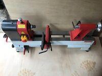 Axminster wood turning lathe AH-1218