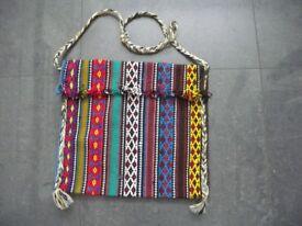 Women's Hand Bag / Hand Woven Ethnic Handbag