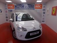 Citroen C3 VT (ROAD TAX £140.00) FREE MOT FOR AS LONG AS YOU OWN THE CAR! (white) 2010