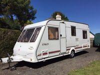 5/6 Berth Caravan, 2000 Herald Emlem 520/6, Lightweight, Awning & Accessories, Very Good Condition