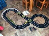 Scalextric Total Speed Jaguar v Mclaren