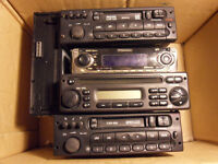 Joblot of Old Car Stereos - Philips, Pioneer and Kenwood - Tape - CD