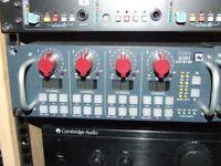 microphone preamp Neve 4081 mic pre amp