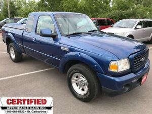 2009 Ford Ranger Sport ** EXT. CAB, TRAILER HITCH, AUX. IN **