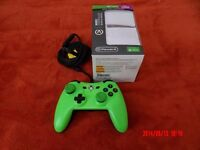 Green Xbox One wired controller