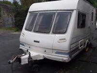Lunar LX2000 Two Berth Touring Caravan